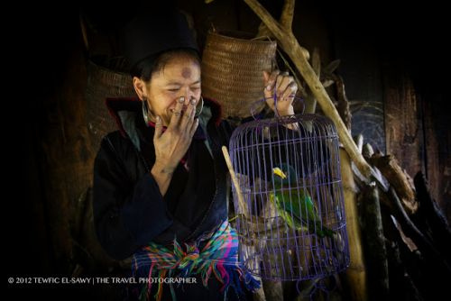 Beyond The Frame | The Black H'mong With Birdcage | 5D Mark II