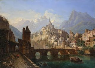 Andreas Leonhard Roller, Landscape with a Castle