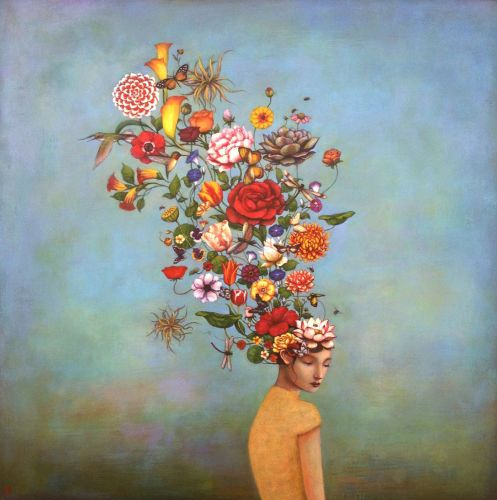Ethereal Acrylic Paintings by Duy Huynh Explore Cultural Displacement and Elements of Folklore