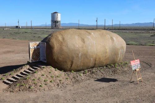 You Say Potato, I Say Hotel Room: a Private Airbnb Fashioned From a Retired 6-Ton Promotional Spud