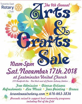 Arts and Crafts Show - Sat. Nov. 17th
