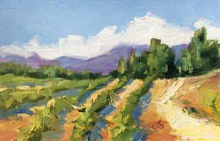 ITALIAN VINEYARD by TOM BROWN