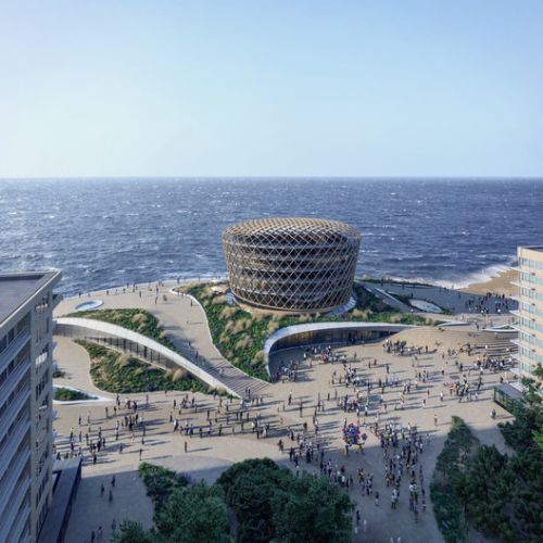 "ZJA Unveils ""Dune Landscape"" and New Landmark for the Belgian Coast"