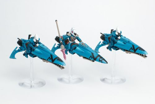 WIP: Eldar/Aeldari Windriders of Iybraesil 2