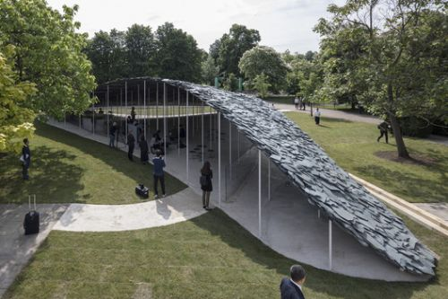 First Look at the 2019 Serpentine Pavilion