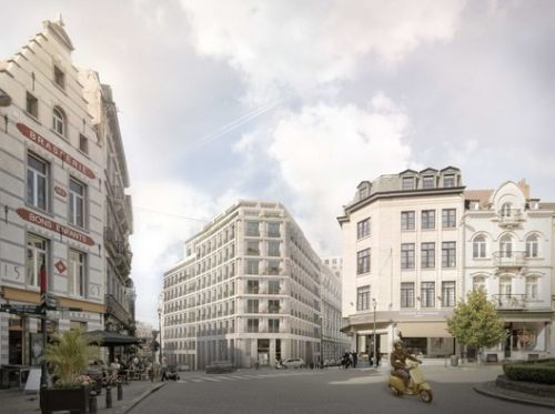 Brussels Regeneration Contest Won by MLA+ and Korteknie Stuhlmacher Architecten