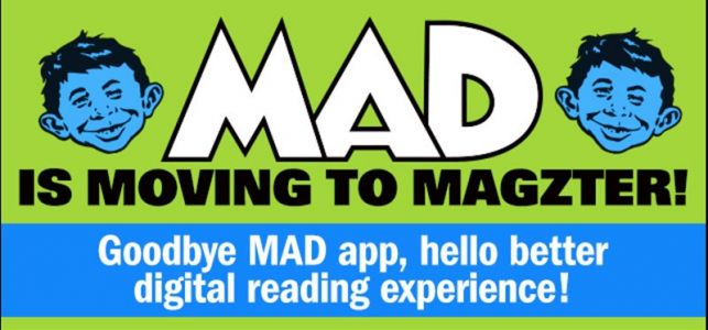 Digital MAD Moving to Magzter