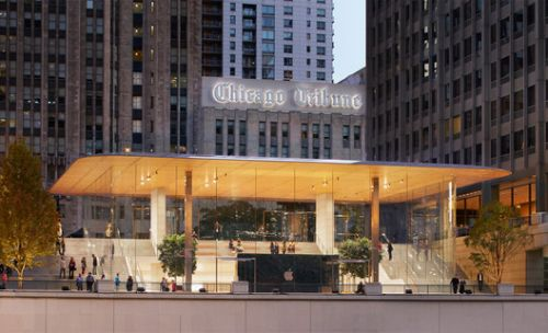 Apple's First Town Square Retail Concept Opens in Chicago