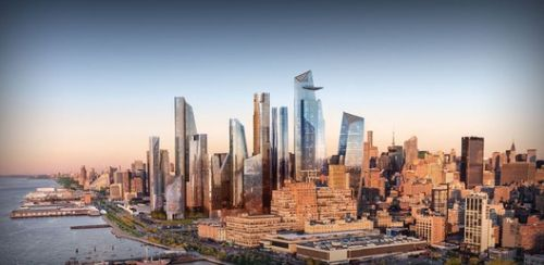Calatrava and Gehry Rumored to Be Designing Skyscrapers for New York's Hudson Yards Megaproject