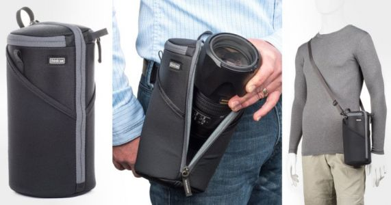 Review: Think Tank Photo's Lens Case Duo Offers Versatile Lens Protection