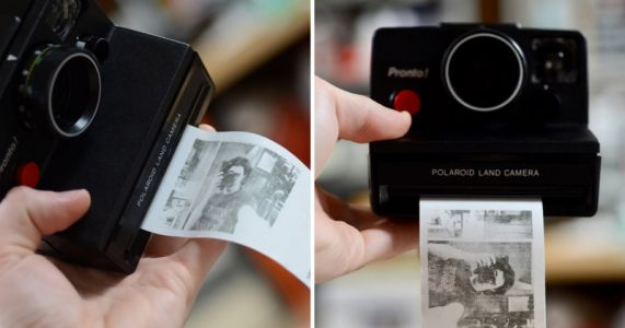 This Guy Hacked an Old Polaroid to Print Instant Photos on Thermal Paper