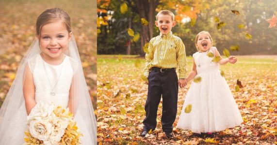 5-Year-Old Girl Gets Dream Wedding Photo Shoot Before 4th Heart Surgery