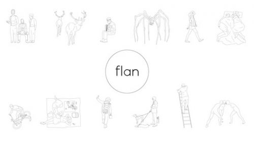 A Downloadable Library of Free DWG Drawings by Flan Studio