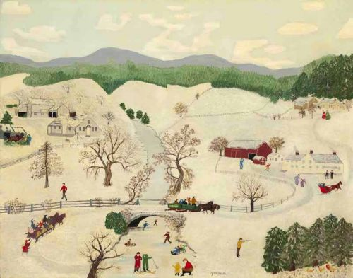Charles Wysocki: If Grandma Moses had Attended the Art Center School