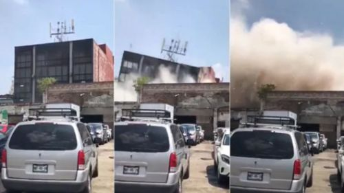 Many Feared Dead or Trapped After Earthquake Topples Buildings Throughout Mexico