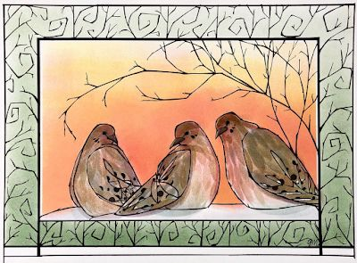 """Isolation Series: """"Good Morning Doves"""""""