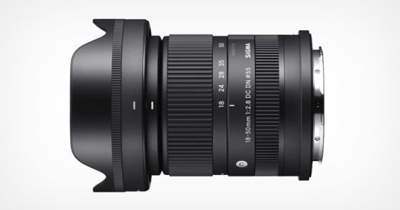 Sigma Unveils the Smallest f/2.8 Zoom for APS-C: 18-50mm f/2.8 DC DN