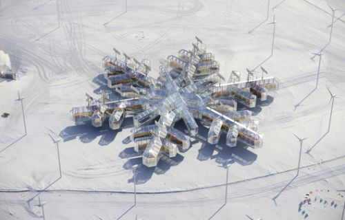 In Antarctica, Architecture is Heating Up