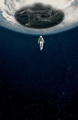 Alcrego: About to be on earth, I'd rather wait in space. HQ