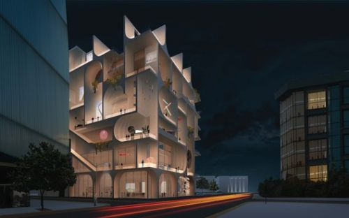 """""""We Wanted a Gradient of Galleries"""": WORKac Explain their Design for the Beirut Museum of Art"""