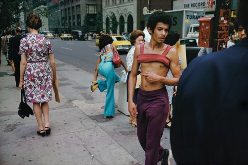 Sucking in the 70s, Joel Meyerowitz