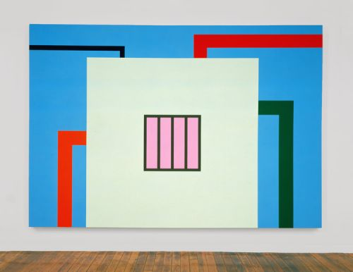 Catalogue essay: Paul Pieroni on Peter Halley's 1980s painting