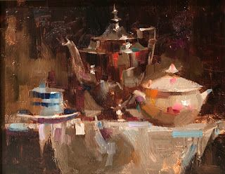 """""""Tea Party"""" -- Sold"""