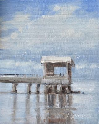 Pier Reflections - and a good lesson