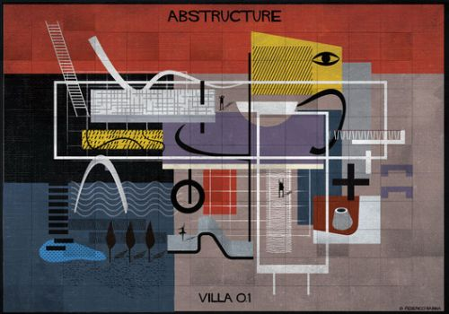 Federico Babina's New Series Abstracts the Drawing Process