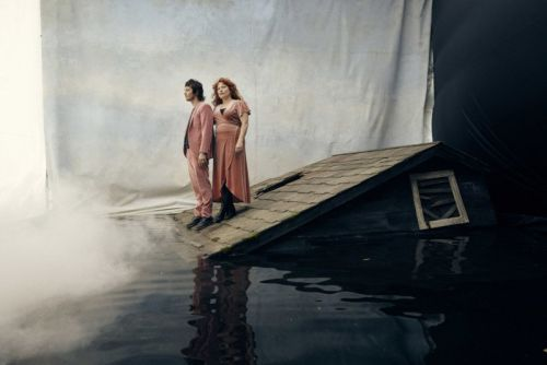 Photographer Builds Flooded House Set for Portraits of Musicians