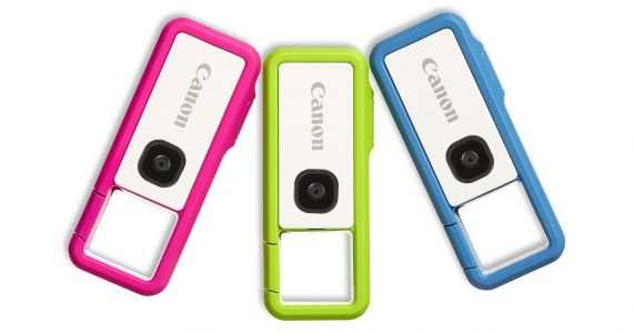 Canon Unveils Clippable, Waterproof IVY REC Camera for Adventure Seekers