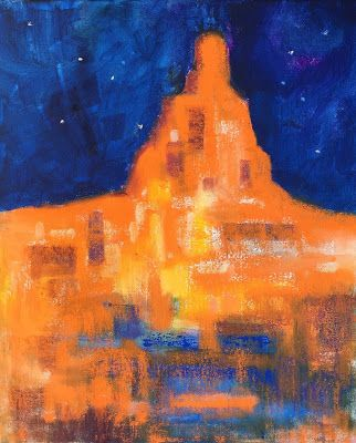 "Expressionistic Southwest Architecture, ""Sedona,"" by Amy Whitehouse"