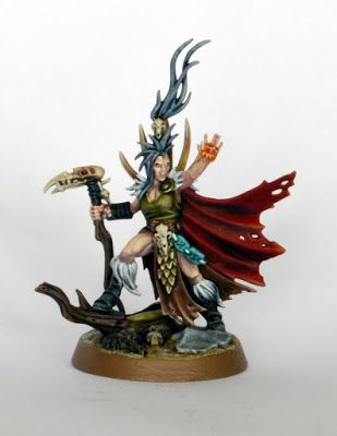 Showcase: Theddra from the Godsworn Hunt for Warhammer Underworlds