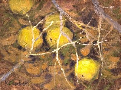 Hedge Apples up for auction on DailyPaintWorks.com