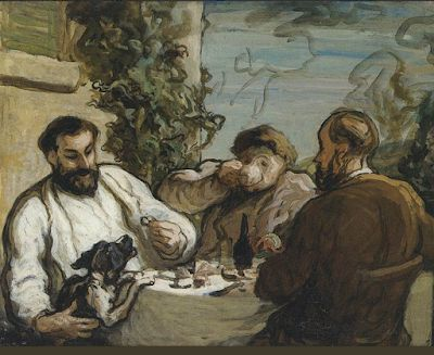 Daumier. Painter, lithographer, social critic