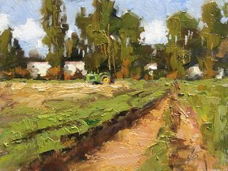 FARM, TRACTOR, CROPS by TOM BROWN