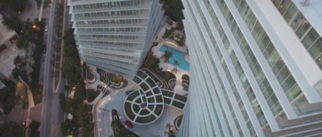 Soar Through BIG's Twisting Miami Towers, the Grove at Grand Bay, in This Drone Video