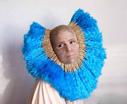 Crocheted Masks by threadstories Question How We Portray Ourselves Online