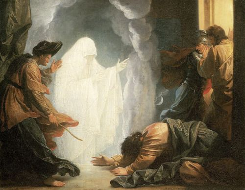 Saul and the Witch of Endor, Benjamin West