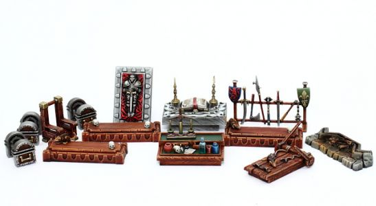 Showcase: Heroquest Furniture