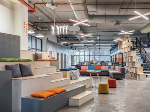 AICL Mumbai Workplace Interiors / SAV Architecture + Design