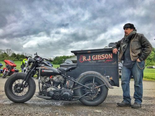 The Tintype Photographer Who Works Out of a 1938 Harley-Davidson Sidecar