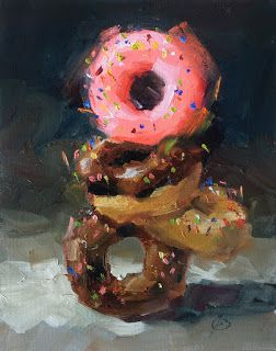 """DONUTS, """"BALANCED NUTRITION"""" by TOM BROWN"""