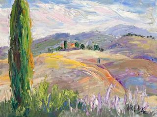 """New """"Flowing Patterns"""" from Tuscany by Contemporary Impressionist Niki Gulley"""