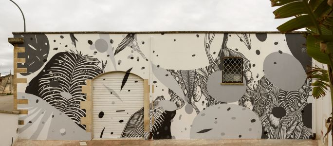 """""""Tropicalism"""" by Tellas in Galatina, Italy"""