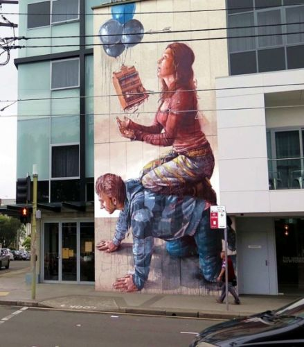 Street Artist: Fintan MageeFintan Magee born in New South Wales