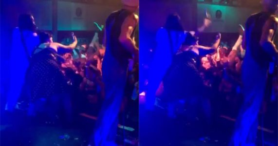 Frontman Slaps Phone from Fan Who Jumped Onstage for Selfie