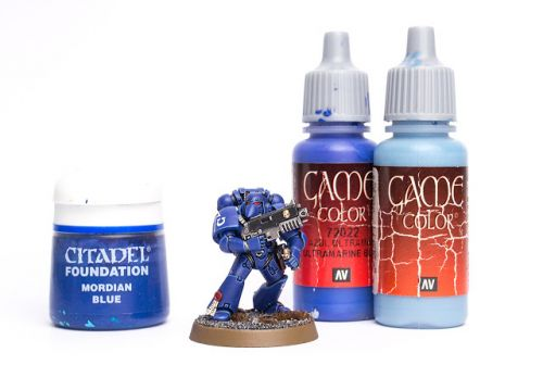 Tutorial: How to paint Ultramarines