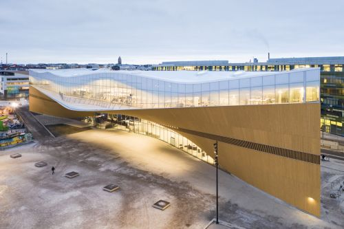 Not Just For Bookworms: Helsinki's Oodi Central Library Connects Residents Through Multi-Faceted Cultural Resources