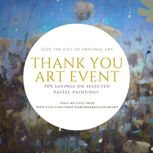 My Thank You Art Event is Back! 50% Discount on Selected paintings!